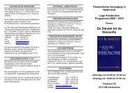Programma 2009 - 2010 in PDF format - Theosofische Vereniging ...