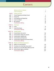 Table of Contents - Home - Focus On Grammar