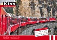 RhB Bernina Express Panoramawagen - Kiss Modellbahnen