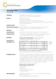 Vuosikirja 2010 Mediakortti - Kymenlaakson kauppakamari