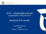 Maisemia E18 varrelta