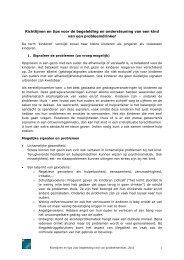 Richtlijnen en tips voor de begeleiding en ondersteuning ... - Vad.be