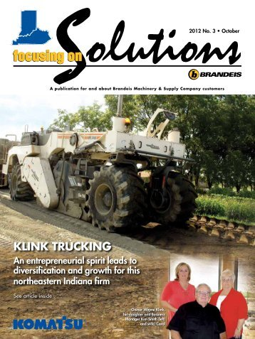 Click Here for PDF - Brandeis Focusing on Solutions magazine