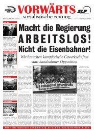 Wir brauchen kämpferische Gewerkschaften statt handzahmer ... - SLP