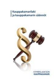 Kauppakamarilaki ja kauppakamarin säännöt - Kymenlaakson ...