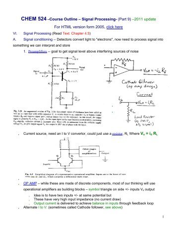 Signal Processing - UIC Department of Chemistry