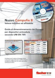 Nuovo Compufix 8 - Linee vita | Sistemi anticaduta