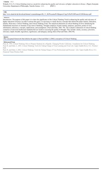 FCT Citations COPY of Final January 6 2013 Copy - The Critical ...