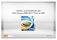 110706_Angebot FIFA Frauen-WM 2011 - ZDF Werbefernsehen