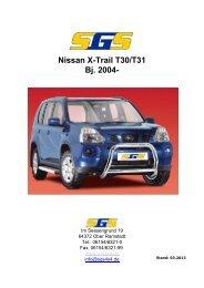 Nissan X-Trail T30/T31 Bj. 2004- - SGS