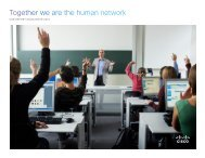 CSR Report Highlights - Cisco