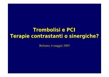Fibrinolisi PCI