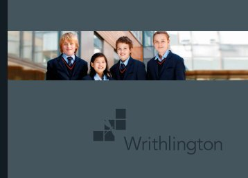 Prospectus - Writhlington School