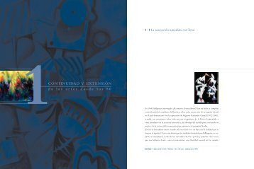 Continuidad y extensión de las artes desde los 80 - Grupo Leon ...