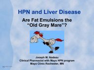 HPN and Liver Disease