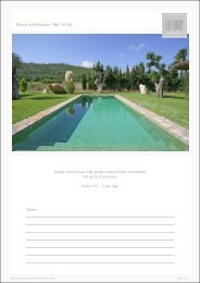 Finca in Pollenca - Ref. 01-55 - Luxury Holidayhomes on Mallorca
