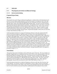 Geology - Keystone XL pipeline