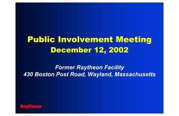 06.Draft Phase IV Remedy Implementation Plan 12-Dec ... - Raytheon
