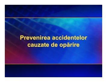 Prevenirea accidentelor cauzate de opărire Prevenirea accidentelor ...
