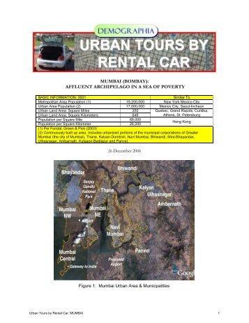 Mumbai - Urban Tours by Rental Car