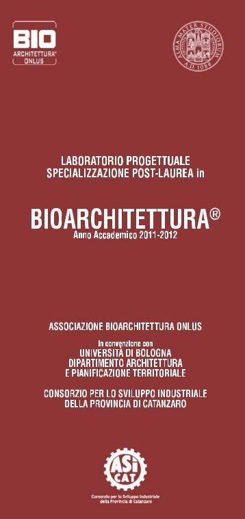 Untitled - Bioarchitettura® Rivista