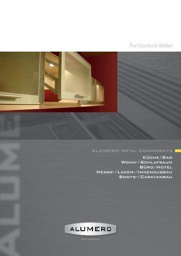 Profiltechnik Möbel - Alumero