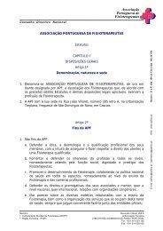 Estatutos - APF