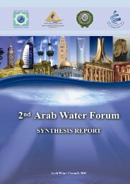 Forum Report - Arab Water Council