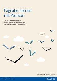 Digitales Lernen mit Pearson - Pearson Deutschland