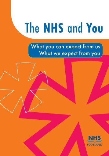 The NHS and You - Health Support Staff Standards