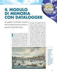 IL MODULO DI MEMORIA CON DATALOGGER