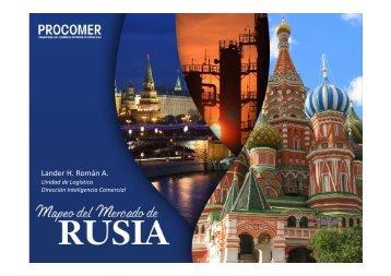 Presentación Logística Rusia junio 2013 - Procomer
