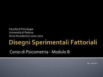 Disegni sperimentali - Marco Vicentini