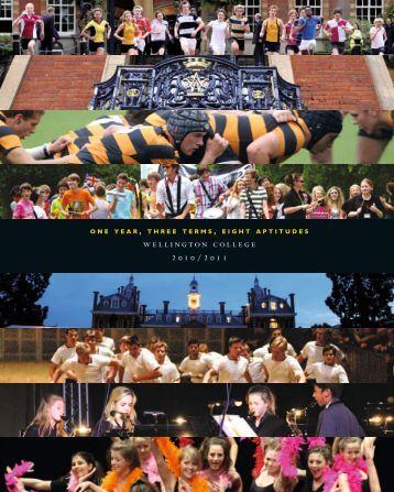 wellington college 2010/2011 - Jules Akel