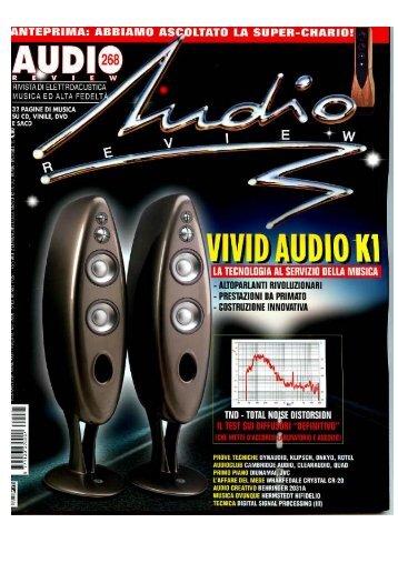 AR Maggio 2006 Vivid Audio K1