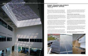 pusat tenaga malaysia's zero energy office - mbipv project