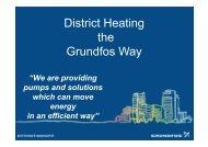 District Heating the Grundfos Way