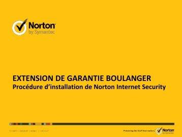 valider et lancer l'installation - Extension de garantie Symantec ...