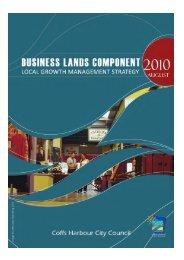 Business Lands Strategic Plan - Coffs Harbour City Council - NSW ...