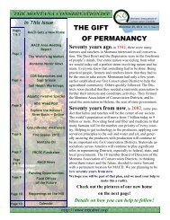 November 5, 2012 Volume 5 Issue 21 - Montana Association of ...