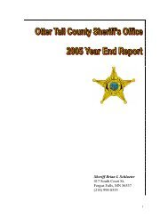 2005 Year End Report - Otter Tail County