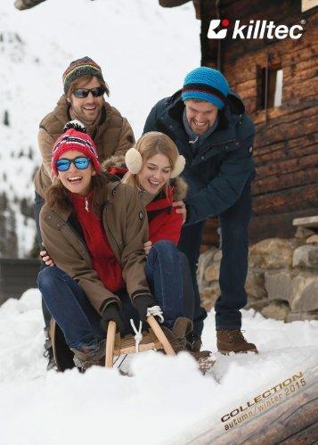 KILLTEC - kolekcja narciarska i outdoorowa JESIEŃ | ZIMA 2015/16