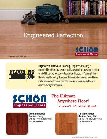 Schn Engineered Catalog Page Lumber Liquidators
