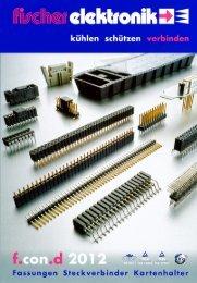 2,54 - Fischer Elektronik
