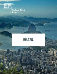 Download detailed itinerary - EF College Study Tours