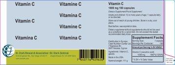 Vitamin C Vitamin C Vitamina C Vitamine C Vitamina C Vitamine C ...