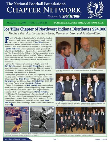 Volume 4, Issue 18 - National Football Foundation