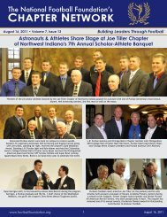 Volume 7, Issue 13 - National Football Foundation