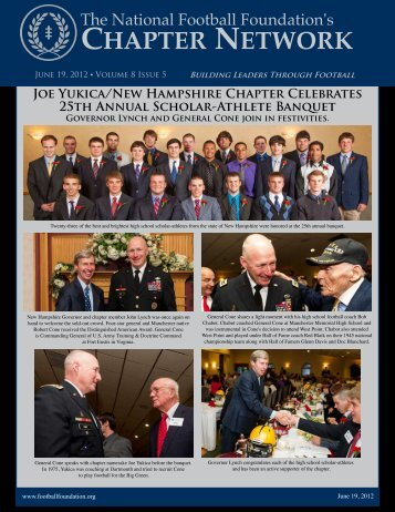 Volume 8, Issue 5 - National Football Foundation