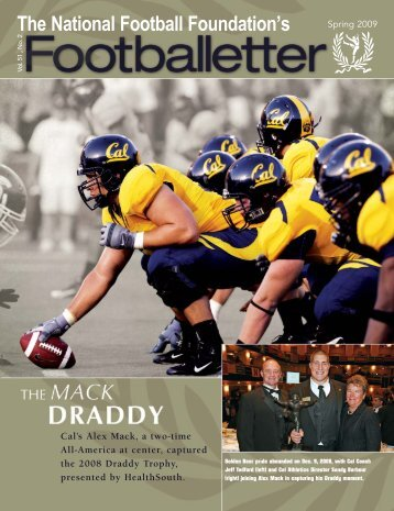 Vol. 51, No. 2 - Spring Issue - The National Football Foundation